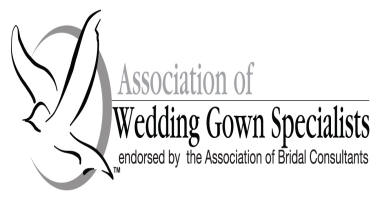 association of wedding gown specialist logo